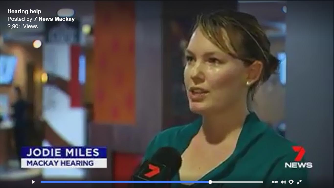 7 News Mackay - Jodie Miles, Mackay Hearing
